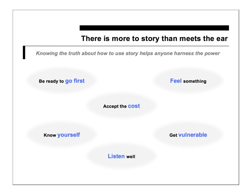 There is more to story than meets the ear